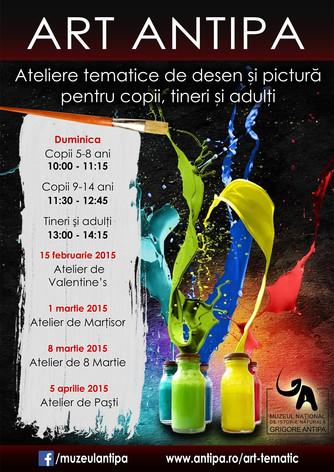Atelierele tematice ART ANTIPA