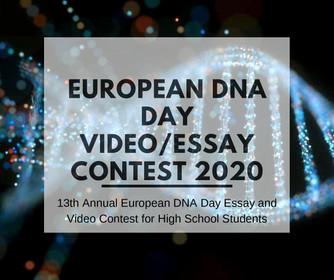 European DNA Day video/essay contest 2020