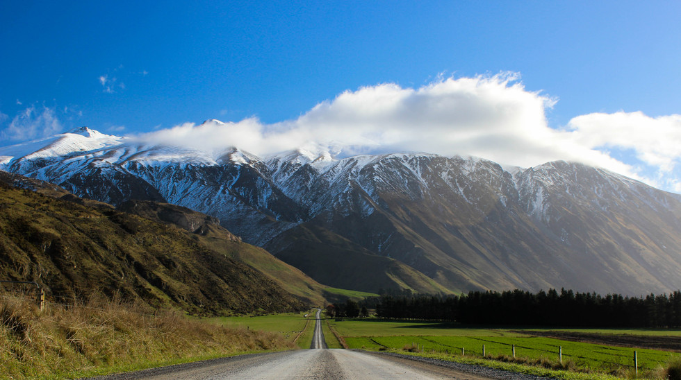 Double Hill Run Road, South Island