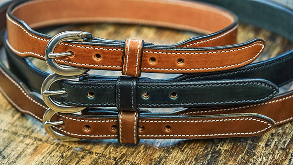 premium leather belt