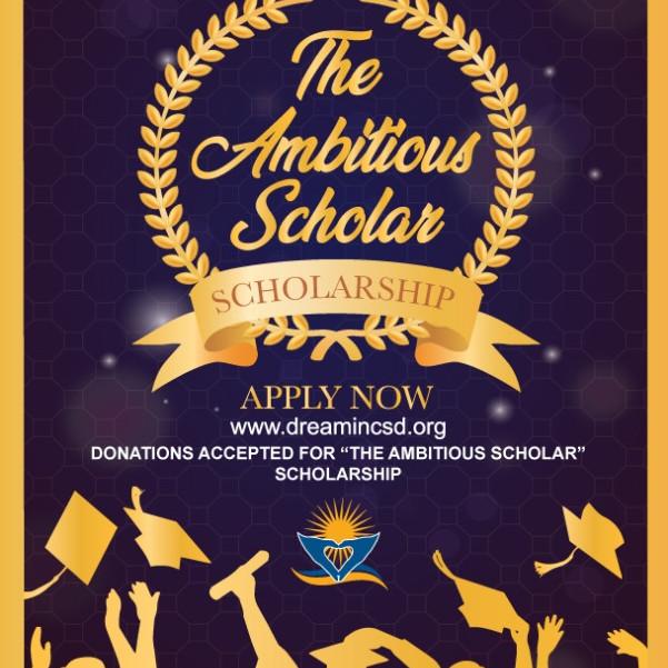 Ambitious Scholar Scholarship 2021