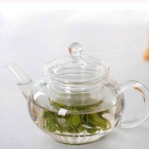 Transparent Teapot   Heat Resistant Glass