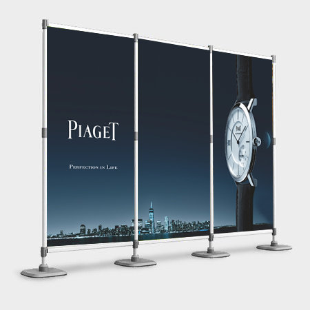 Aluminium Modular Backdrop (3 Panel)