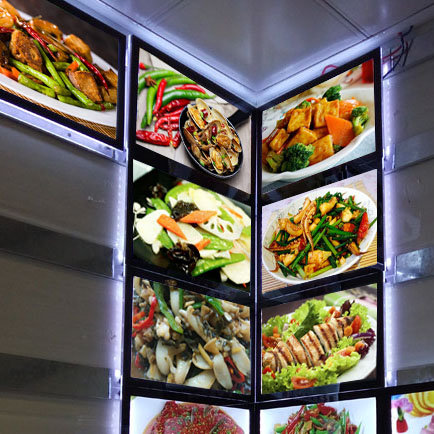 LED Magnetic Light Box / Menu Board