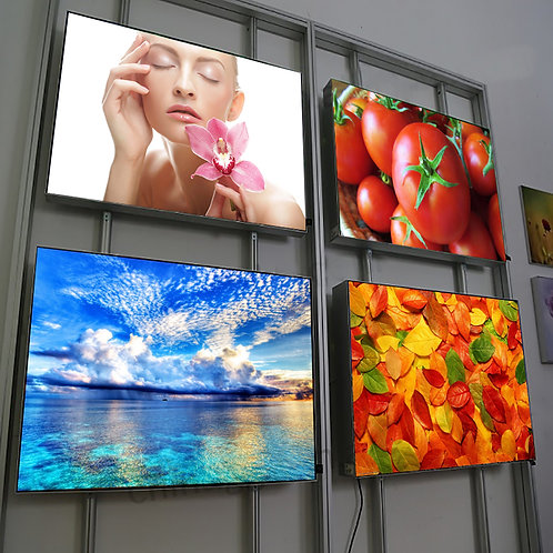 Aluminium Frameless LED Light-box