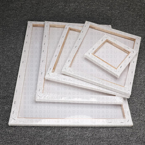 Art Canvas With Wooden Frame