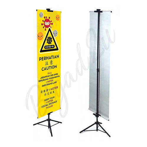Social Distancing Tripod Stand (GTS)