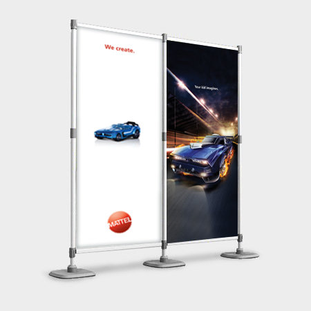 Aluminium Modular Backdrop (2 Panel)