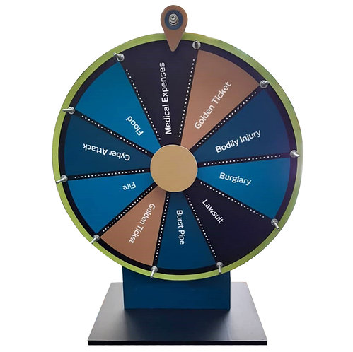 """Table Top Wheel of Fortune (16"""")"""