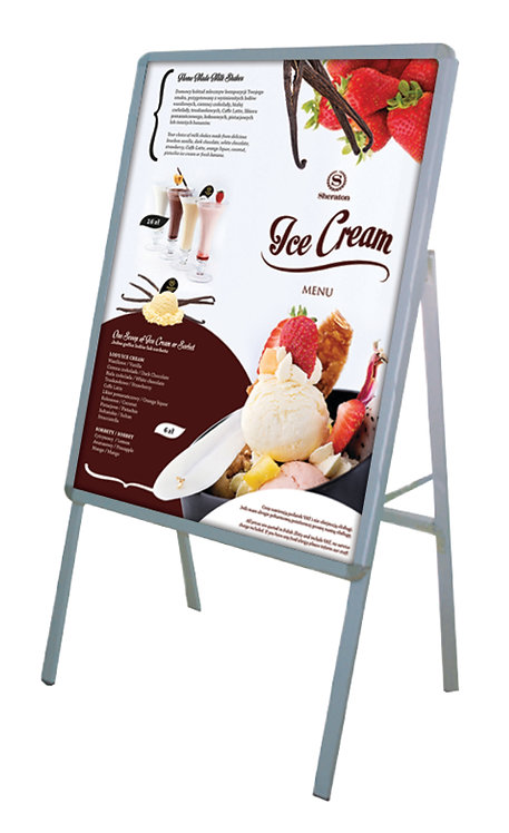 Poster Stand - H1 (Single Sided)