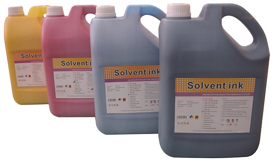 Solvent Ink (5 Liter)
