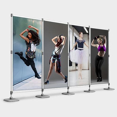 Aluminium Modular Backdrop (4 Panel)