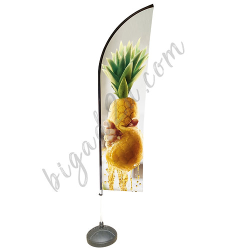 Feather Aluminium Beach Pole With Water-Filled 15kg (2.3M)