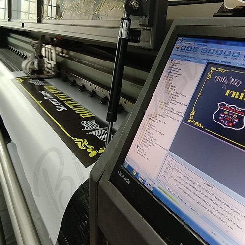 PVC Vinyl Sticker Printing