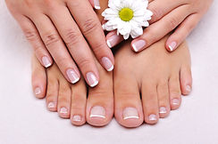 French Nails Shellac - So Very Feminine~Hair & Makeup Artists www.soveryfeminine.com