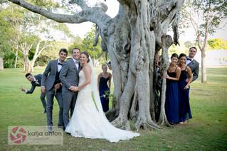 Anna & Bradley...A stunning Noosa Wedding