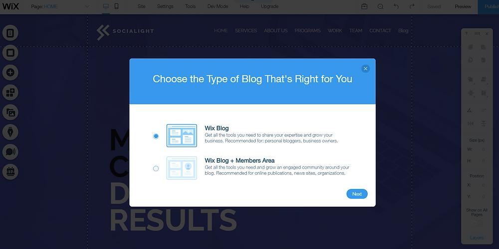 Wix Blog Tutorial