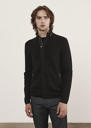 PATRICK ASSARAF Full-Zip Sweater