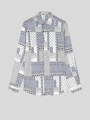 ETRO Patchwork Print Shirt