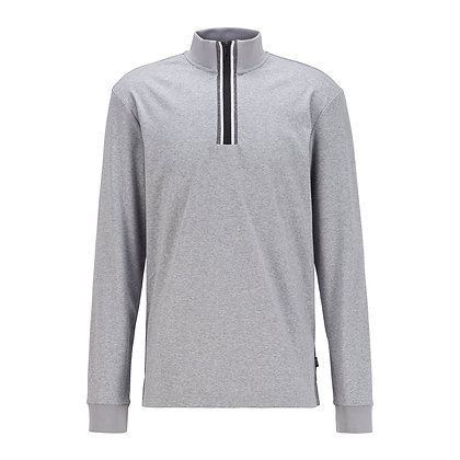 BOSS Quarter Zip Sweater