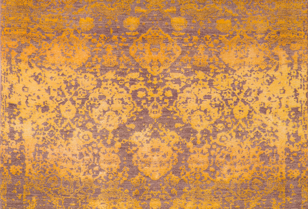 Designer - Abrashed Floral Cartouches