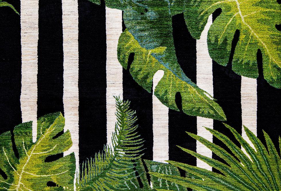 Super Fine Gabbeh Flora & Fauna - Jungle Beat, Gabbehs Flora & Fauna