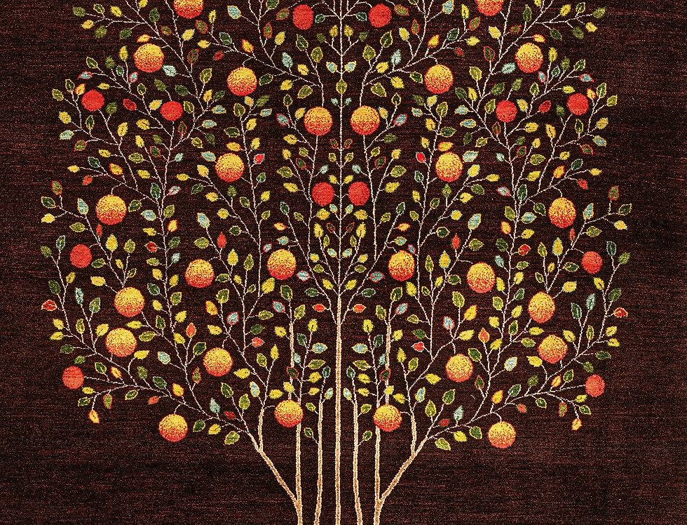 Super Fine Gabbehs Flora & Fauna - Pomegranate Tree of Life 6 PR