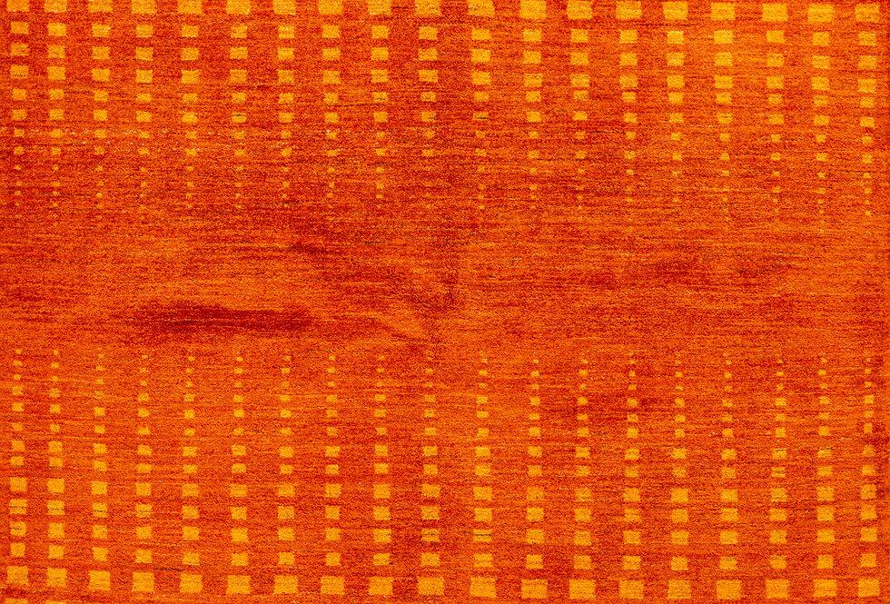 Fine Gabbehs Geometric - Perspectives in Orange