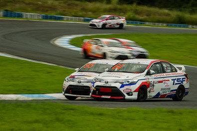 Vios Cup action at Clark International Speedway