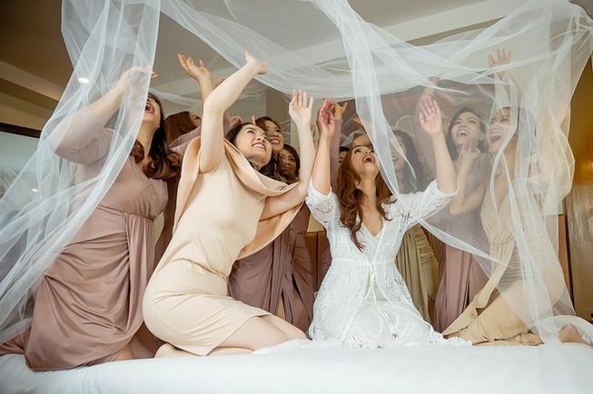 Jo Ann with Bridesmaid