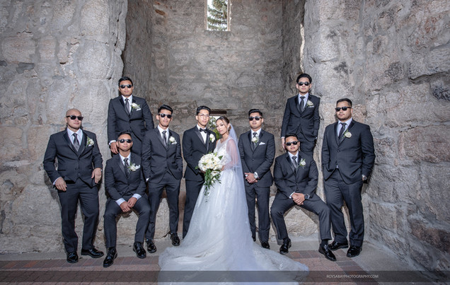 Cristalyn + Jayson and Groomsmen