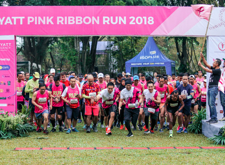 Pink Ribbon: Hyatt Regency Yogyakarta's CSR Program for Cancer  Survivors