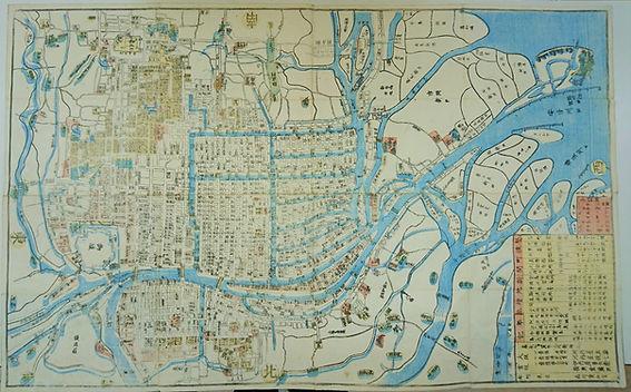槇尾古書店古地図
