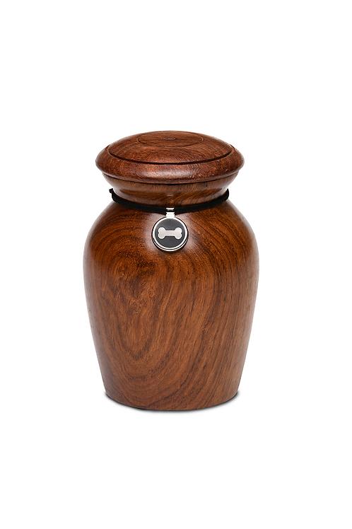 Rosewood Vase Urn – RW-Vase-Small – Colored Bone CHARM