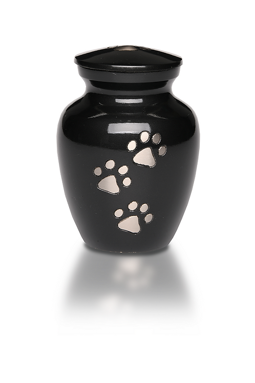 "PPVH Classic Paw ""Paws to Heaven"" Pet Cremation Urn – EXTRA SMALL – B-1651-XS"