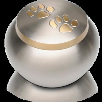 PFPC Double Paw Print Pet Cremation Urn – Large – B-1536-P-L/B-2153-L