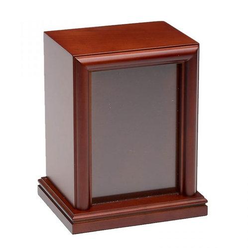 5″ x 7″ Photo Frame Pet Urn – B016-Large-Cherry – 100 cu. in.