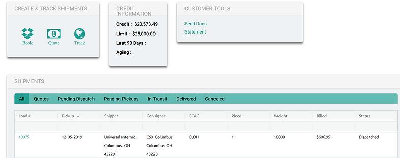 Accurate Logistics Customer Dashboard.PN