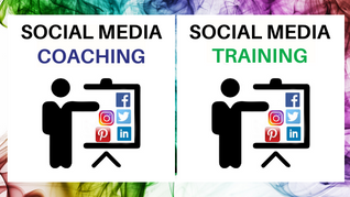 How does Social Media Training differ from Coaching?