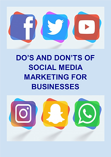 Dos and Don'ts of Social Media Marketing