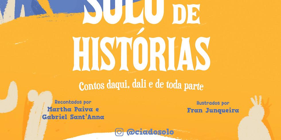 Lançamento do livro SOLO DE HISTÓRIAS