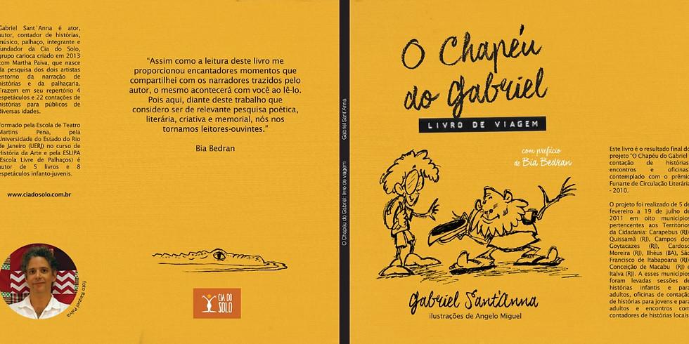 Fala autor - O Chapéu do Gabriel - livro de viagem