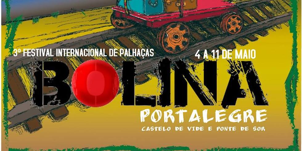 Festival Bolina - 3. Festival Internacional de Palhaças