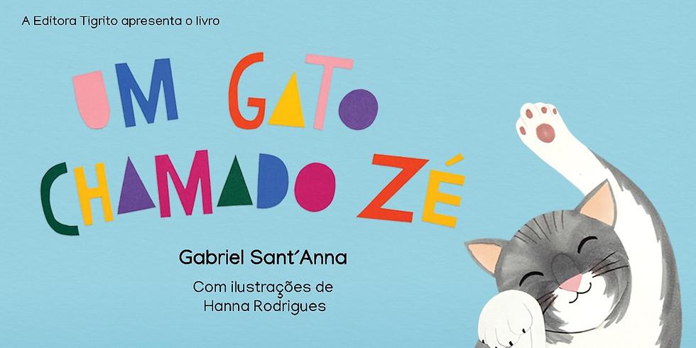 Um gato chamado Zé - (lançamento do livro)