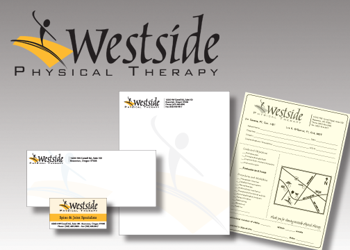 Westside PT - Logo & Business Pkg.