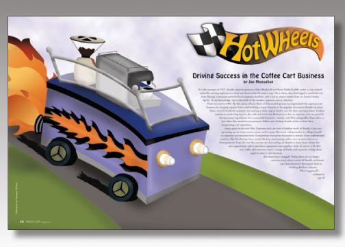 Freshcup Magazine - Hot Wheels