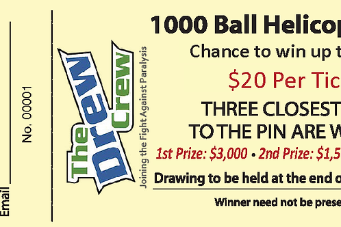Helicopter Ball Drop Tickets