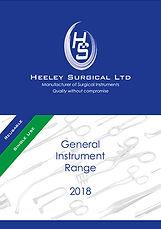 Heeley Surgical General Instrument Range 2018 brochure