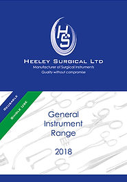 Heeley Surgical General Instrument Range 2018 brochure