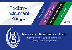 Heeley Surgical Podiatry Instrument Rang